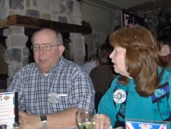 Father Mike Wilson & Claire Bradley Ingley 1996 40th reunion