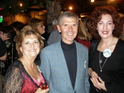 Trish, Bill McCarten and Juliette Perry, 2006 40th reunion 1996